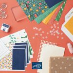 Stampin' Up Beginner Brochure Simply Citrus Card Kit Contents