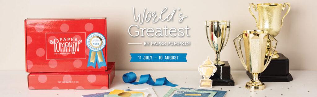 Paper Pumpkin August Kit World's Greatest